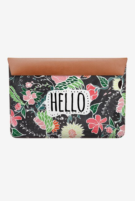 DailyObjects Flowers Hello MacBook Pro 13 Envelope Sleeve