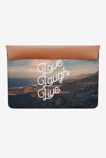DailyObjects Love Laugh Live MacBook Air 11 Envelope Sleeve