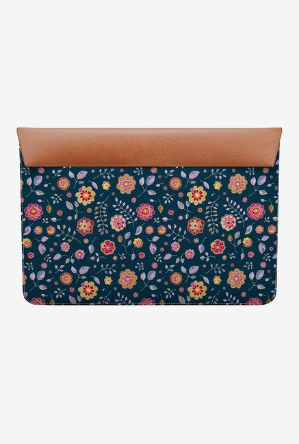 DailyObjects Bright Flowers MacBook 12 Envelope Sleeve