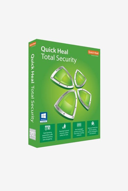 Quick Heal Total Security - 5 PCs for 3 Years