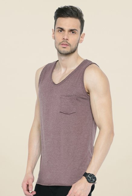 Cult Fiction Wine Solid Vest