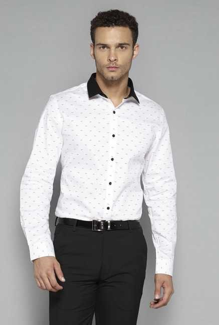 Weststreet by Westside White Printed Shirt
