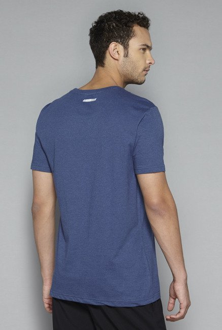 Westsport by Westside Navy Printed T Shirt