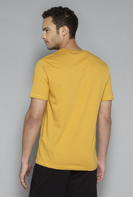 Bodybasics by Westside Mustard Graphic Print T Shirt