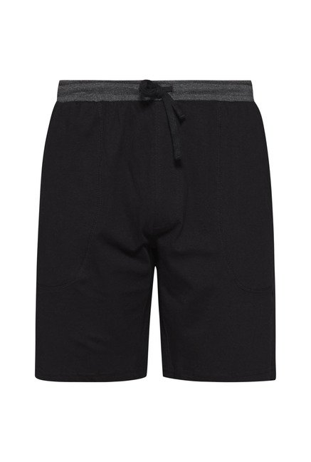 Bodybasics by Westside Black Solid Shorts