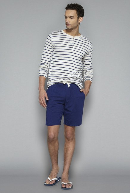 Bodybasics by Westside Navy Solid Shorts