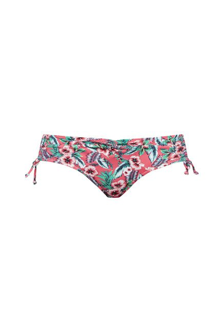 Wunderlove by Westside Pink Floral Print Swim Briefs