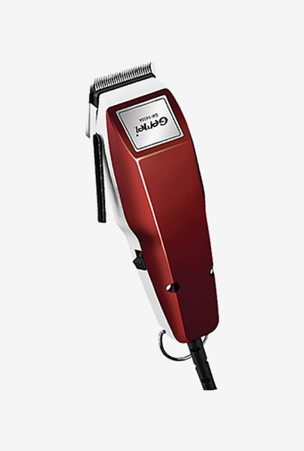 Gemei Heavy Duty GM-1400A Clipper Trimmer for Men (Red)