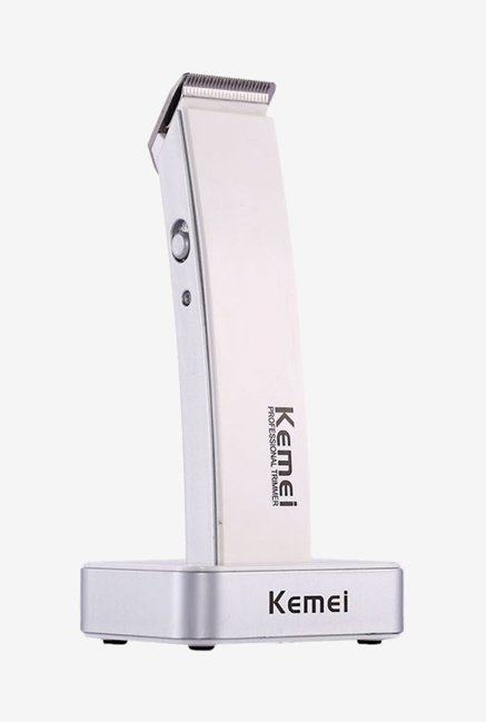 Kemei KM-619 Trimmer for Men (White)
