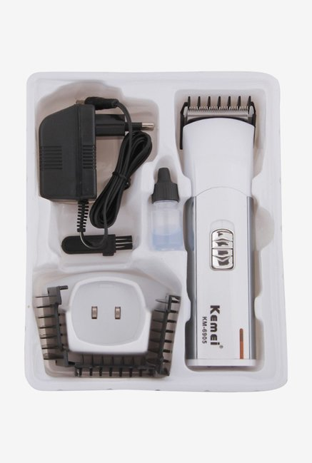 Kemei Km-6905 Clipper Trimmer for Men (White)