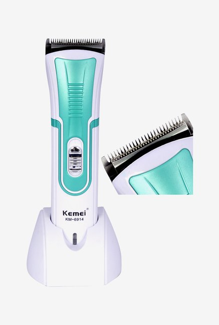 Kemei KM-6914 Trimmer for Men (White)