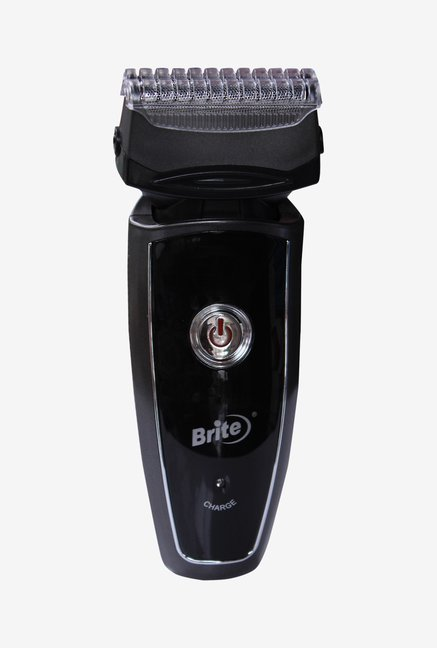 Brite SOROO BS-330 Rechargeable Shaver for Men (Black)