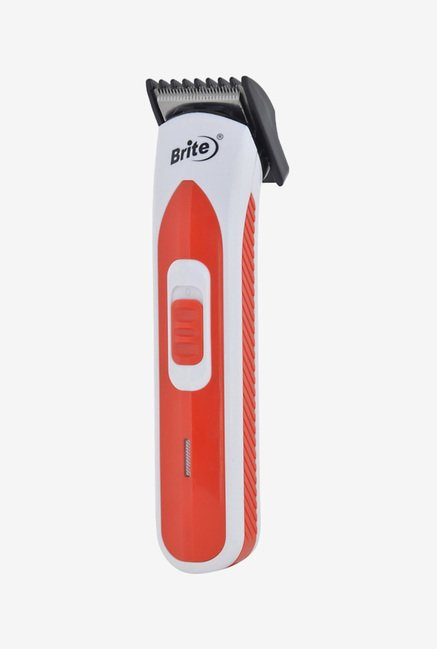 Brite Professional BHT-603 Hair Trimmer for Unisex (Red)