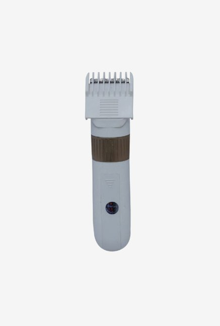 Gemei TRI-721-G-CST Trimmer for Men (White & Gold)