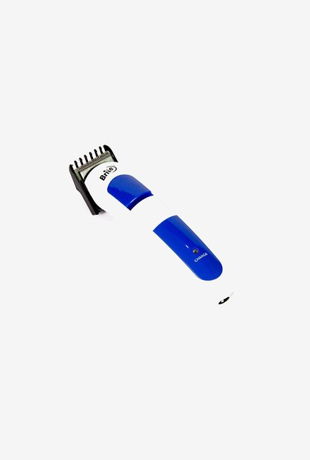 Brite BHT-409 2 in 1 Trimmer for Men (Blue & White)