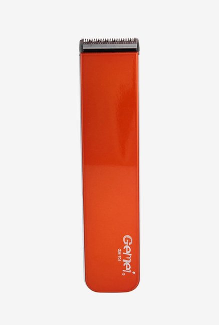 Gemei GM-701 Hair Clipper for Men (Orange)
