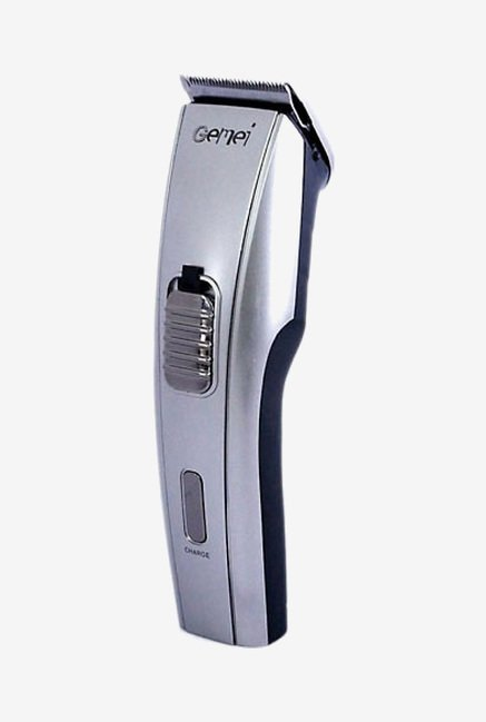 Gemei GM-709 Trimmer for Men (Silver)