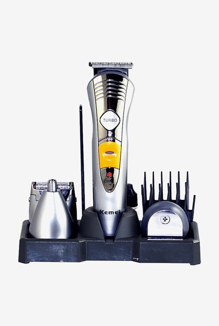 Kemei KM-580A 7 in 1 Rechargeable Grooming Kit Trimmer