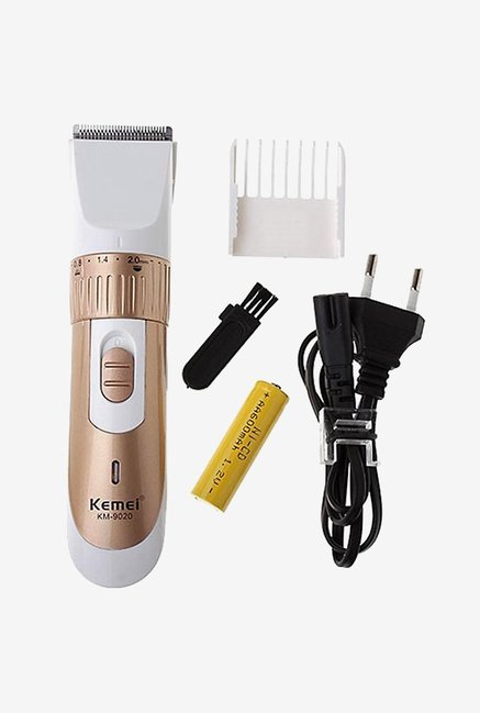 Kemei KM-9020 Trimmer for Men (Copper)