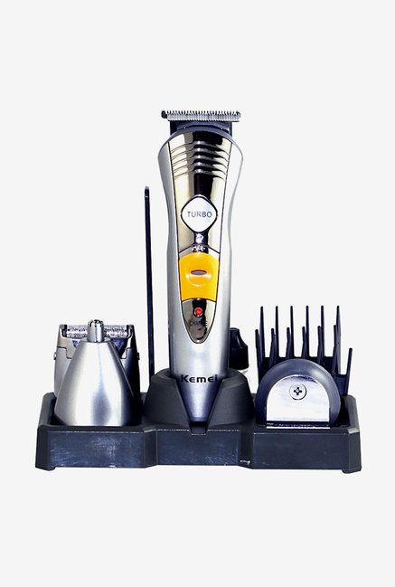 Kemei KM-580A Grooming kit for Men (Silver)
