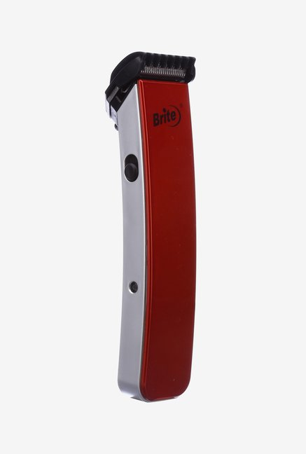 Brite BHT-216W 2 in 1 Trimmer for Men (Red)