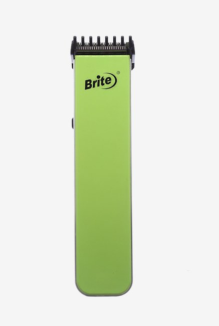 Brite BHT-216G 2 in 1 Trimmer for Men (Green)