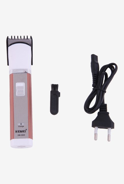 Kemei KM 3005 Trimmer for Men (White)