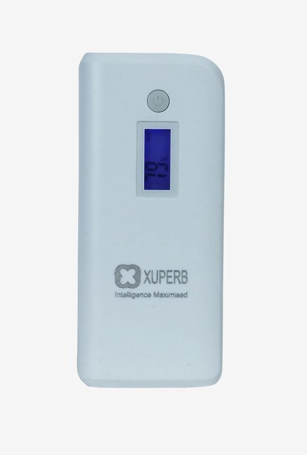 Xuperb XU-M4-110 11000 mAh Power Bank (White & Grey)