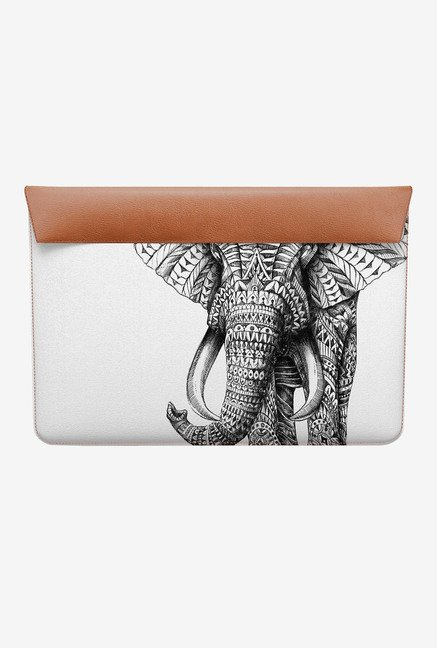 DailyObjects Ornate Elephant MacBook 12 Envelope Sleeve