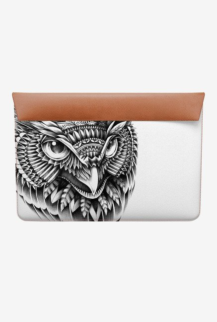 DailyObjects Ornate Owl Head MacBook Air 11 Envelope Sleeve