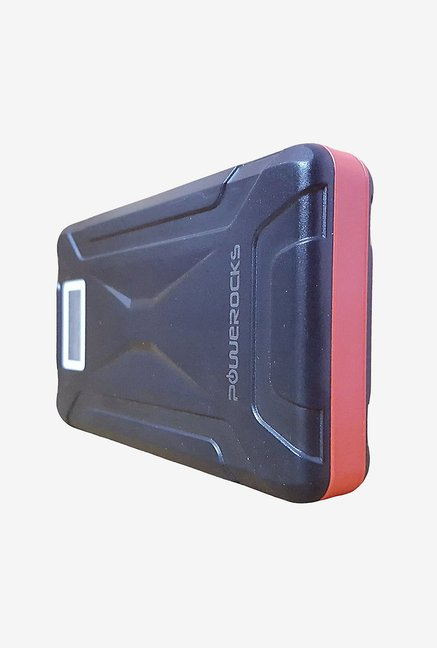 Powerocks Mach 125 12500mAh Power Bank (Black & Red)