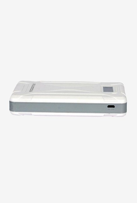 Powerocks Mach 125 12500mAh Power Bank (White & Grey)