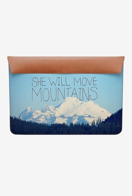 DailyObjects Move Mountains MacBook 12 Envelope Sleeve