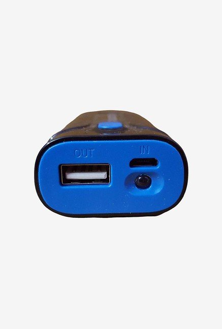 Powerocks Pro 52 5200mAh Power Bank (Black & Blue)