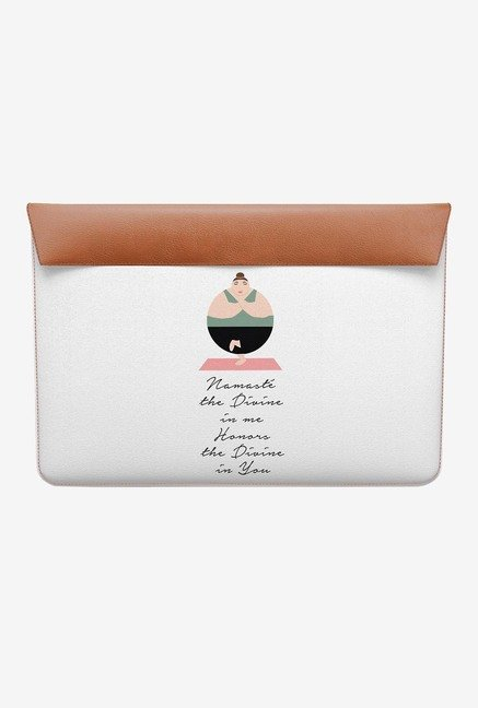 DailyObjects Namaste Quote MacBook Air 11 Envelope Sleeve