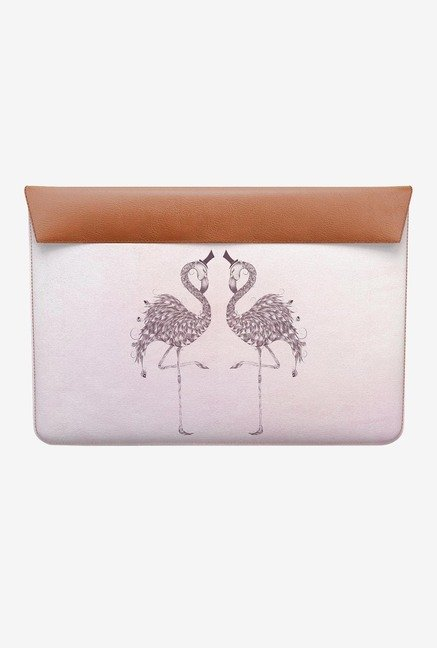 DailyObjects Poetic Flamingo MacBook 12 Envelope Sleeve
