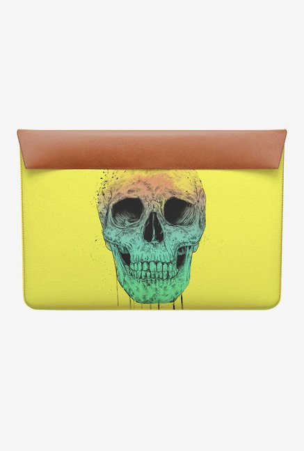 DailyObjects Pop Art Skull MacBook 12 Envelope Sleeve