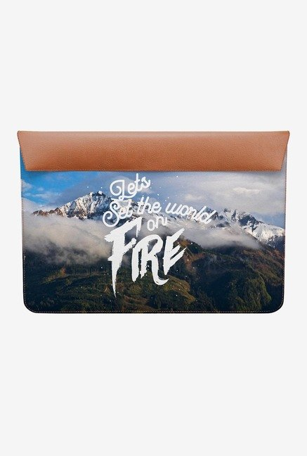 DailyObjects Set World Fire MacBook Air 13 Envelope Sleeve