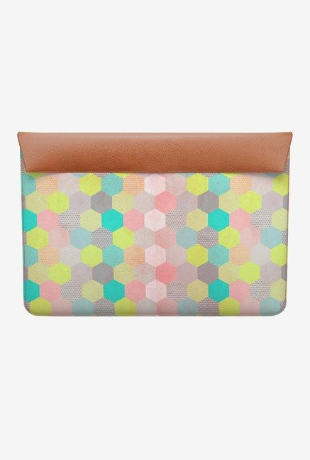DailyObjects Pastel Hexagon MacBook 12 Envelope Sleeve