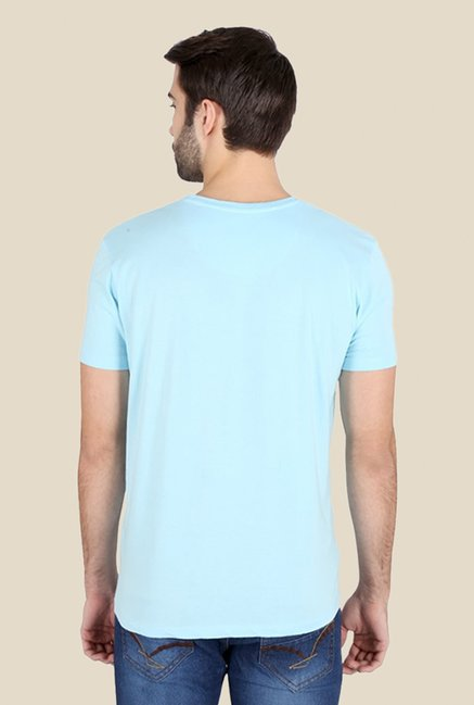 Dexter Don'T Mess With The Nerd Light Blue Graphic T-shirt
