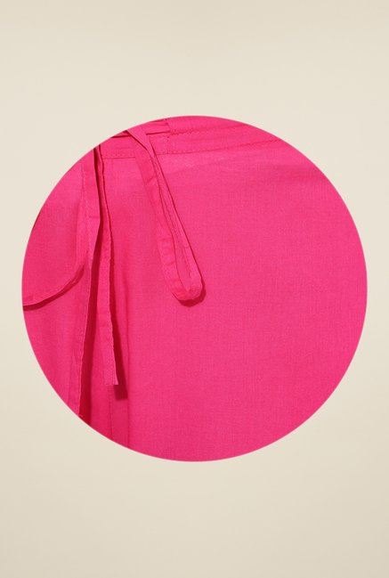 Shree Pink Cotton Palazzos