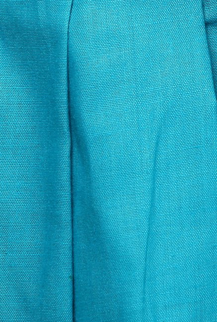 Shree Turquoise Cotton Patiala Salwar