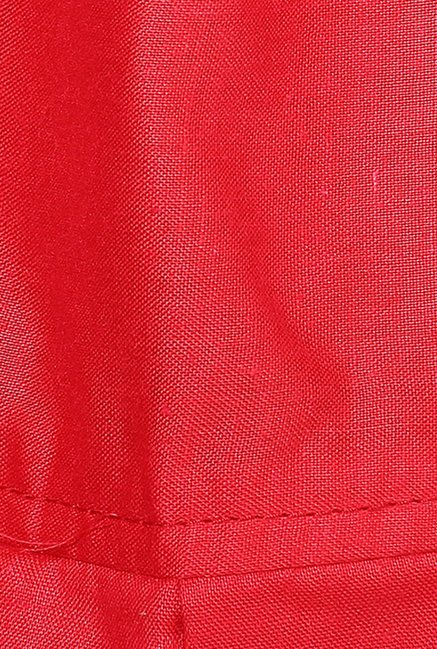 Shree Red Cotton Patiala Salwar