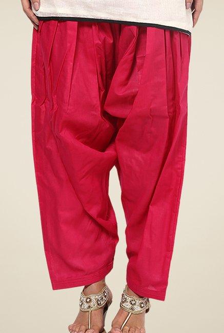 Shree Pink Cotton Patiala Salwar