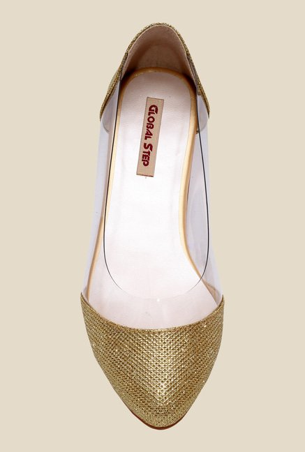 Global Step Golden Flat Ballets