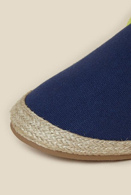 Zudio Blue Espadrille Shoes