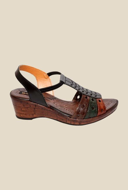 Global Step Multi Sling Back Wedges