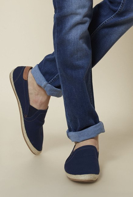 Zudio Navy Espadrille Shoes