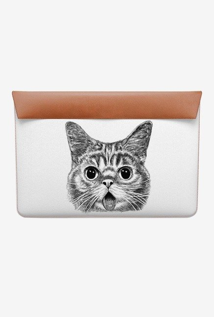 DailyObjects Shocked Cat MacBook 12 Envelope Sleeve