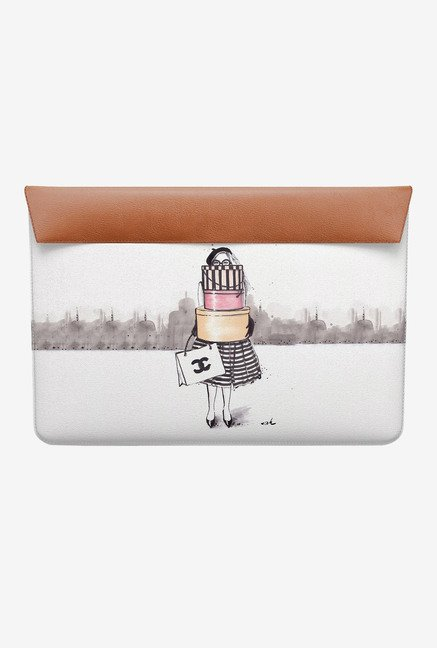 DailyObjects Shopping Junkie MacBook 12 Envelope Sleeve